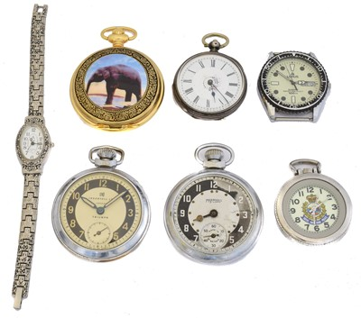 Lot 60 - A selection of watches