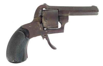 Lot 242 - The major parts of a 7mm pinfire revolver
