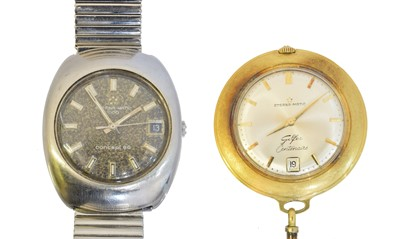 Lot 51 - Two Eterna-Matic watches