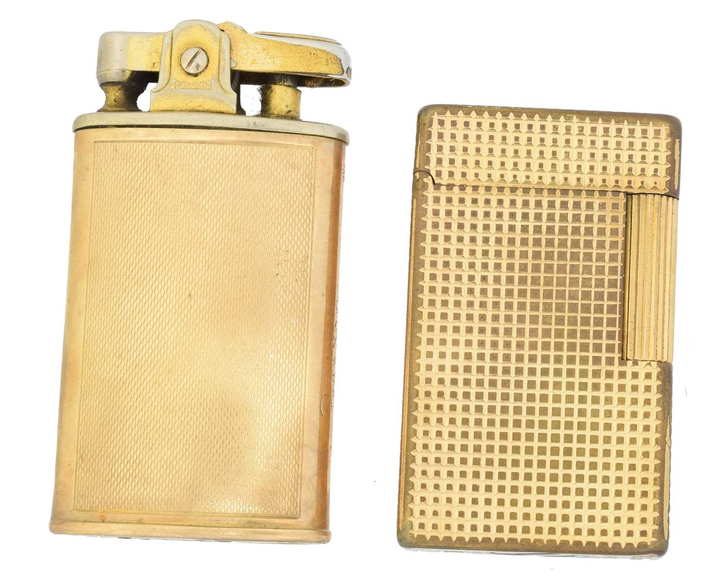 Lot 48 - Two Ronson lighters