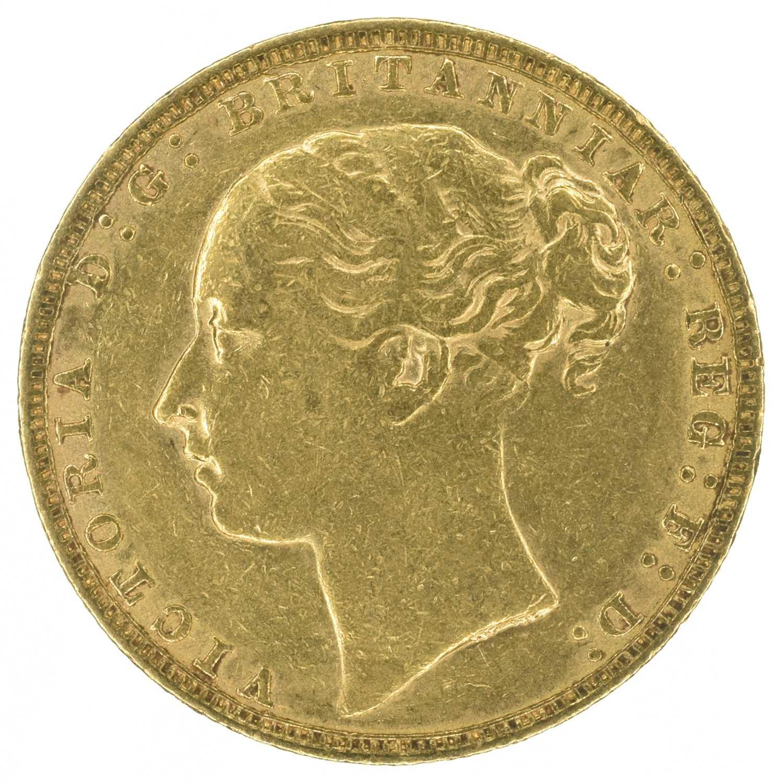 Lot 21 - Queen Victoria, 1880, Sovereign.