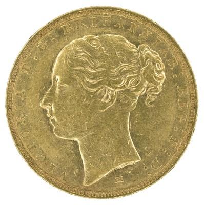 Lot 22 - Queen Victoria, 1885, Sovereign, Melbourne Mint.