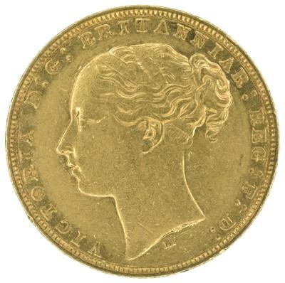 Lot 23 - Queen Victoria, 1880, Sovereign, Melbourne Mint.
