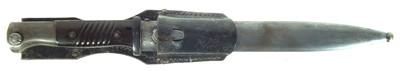 Lot 88 - German Mauser K98 S.84/98 WWII bayonet