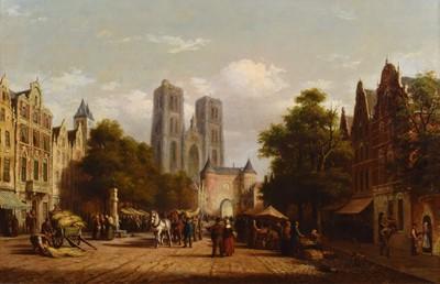 Lot 1 - Andries Scheerboom (1832-c.1880)