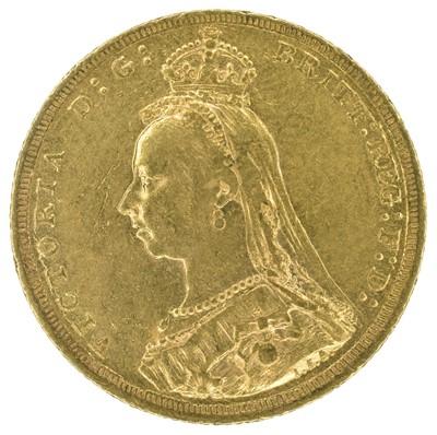 Lot 25 - Queen Victoria, Sovereign, 1889, Sydney Mint.
