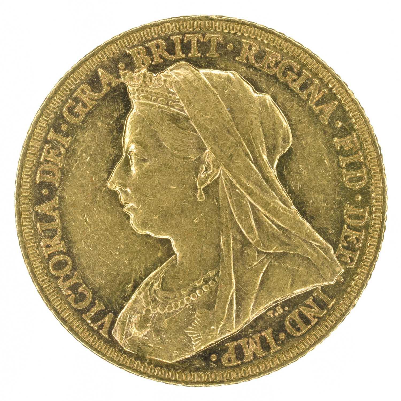 Lot 26 - Queen Victoria, Sovereign, 1896, Melbourne Mint.