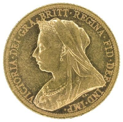 Lot 27 - Queen Victoria, Sovereign, 1894, Melbourne Mint.
