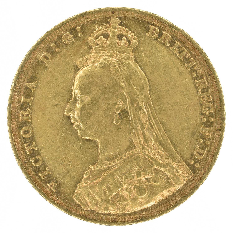 Lot 28 - Queen Victoria, Sovereign, 1892, Sydney Mint.