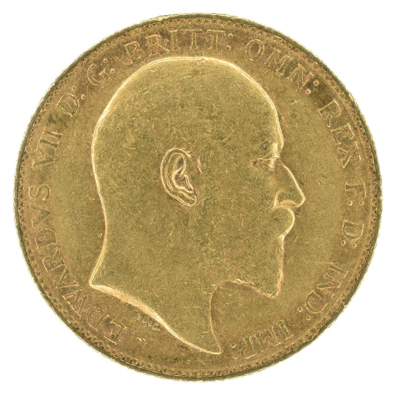Lot 47 - King Edward VII, Sovereign, 1905, Perth Mint.