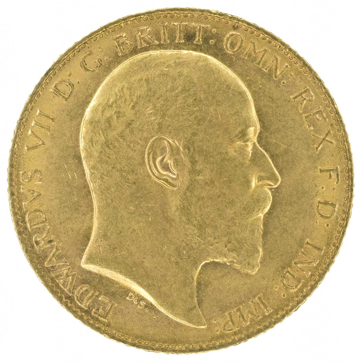 Lot 51 - Two King Edward VII, Half-Sovereigns, 1903 and 1910 (2).