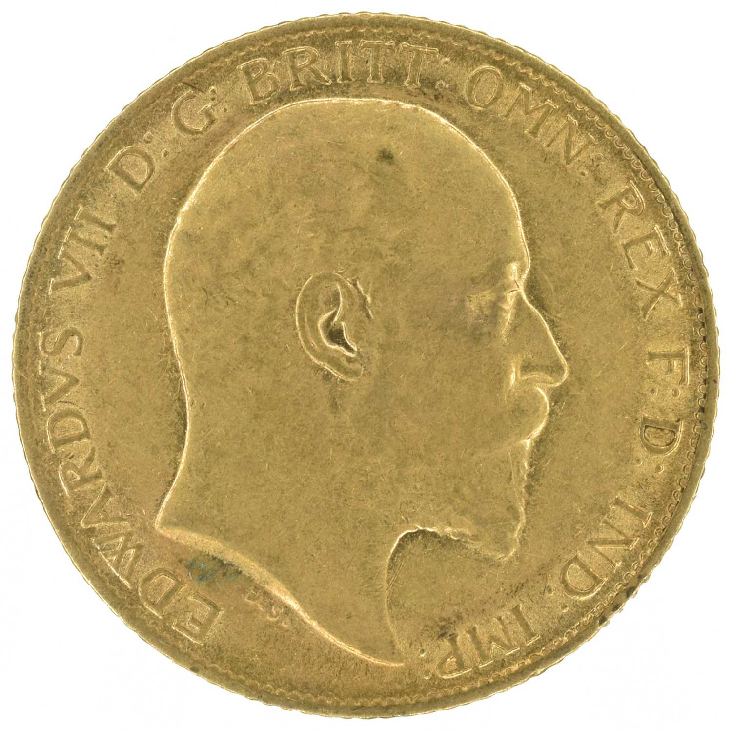 Lot 52 - Two King Edward VII, Half-Sovereigns, 1905 and 1906 (2).
