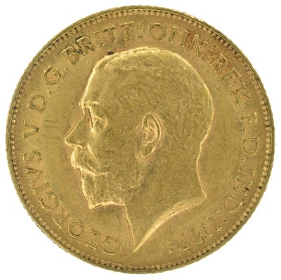Lot 53 - Two King George V, Half-Sovereigns, 1911 and 1912 (2).