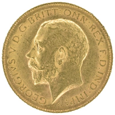 Lot 54 - Two King George V, Half-Sovereigns, 1913 (2).