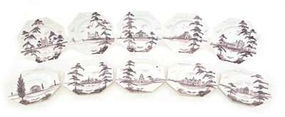 Lot 111 - 10 Side Plates by ISIS Ceramics
