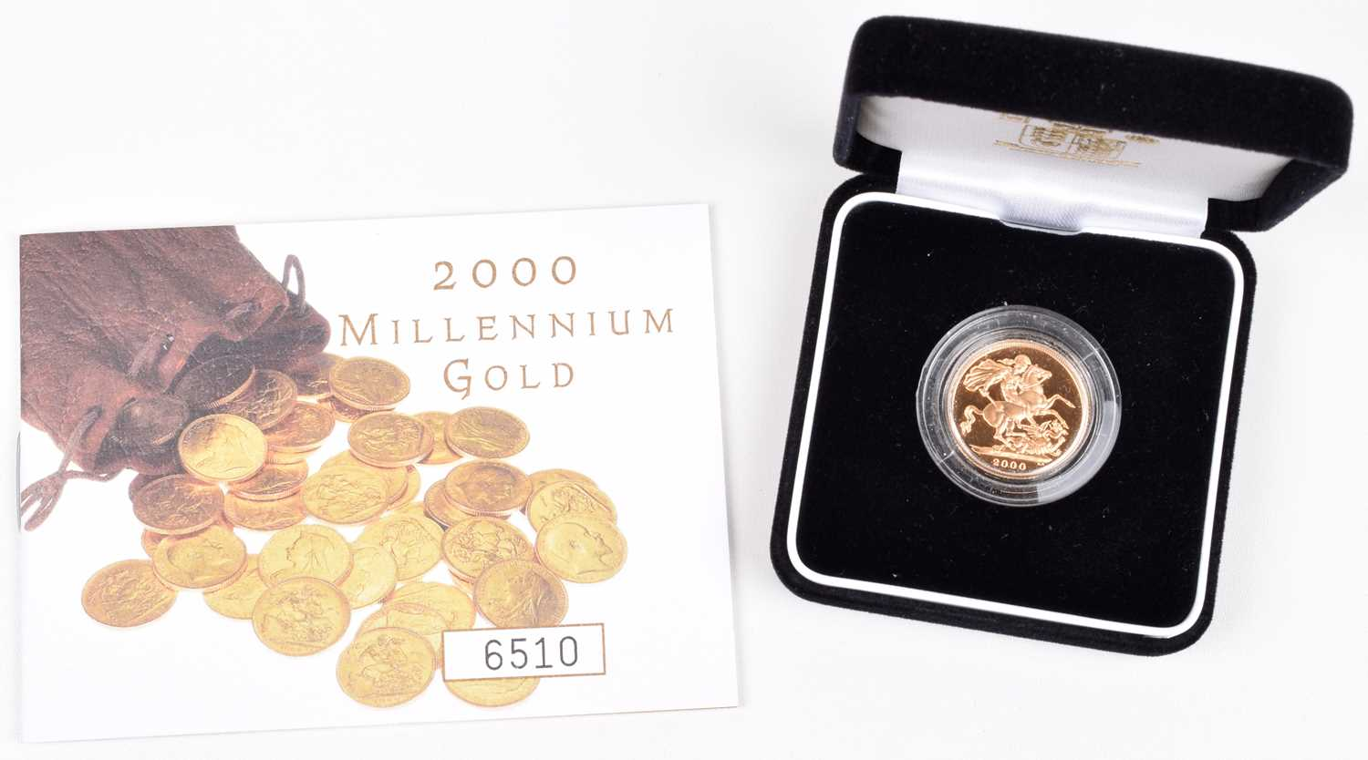Lot 65 - 2000 Royal Mint, Proof Sovereign.