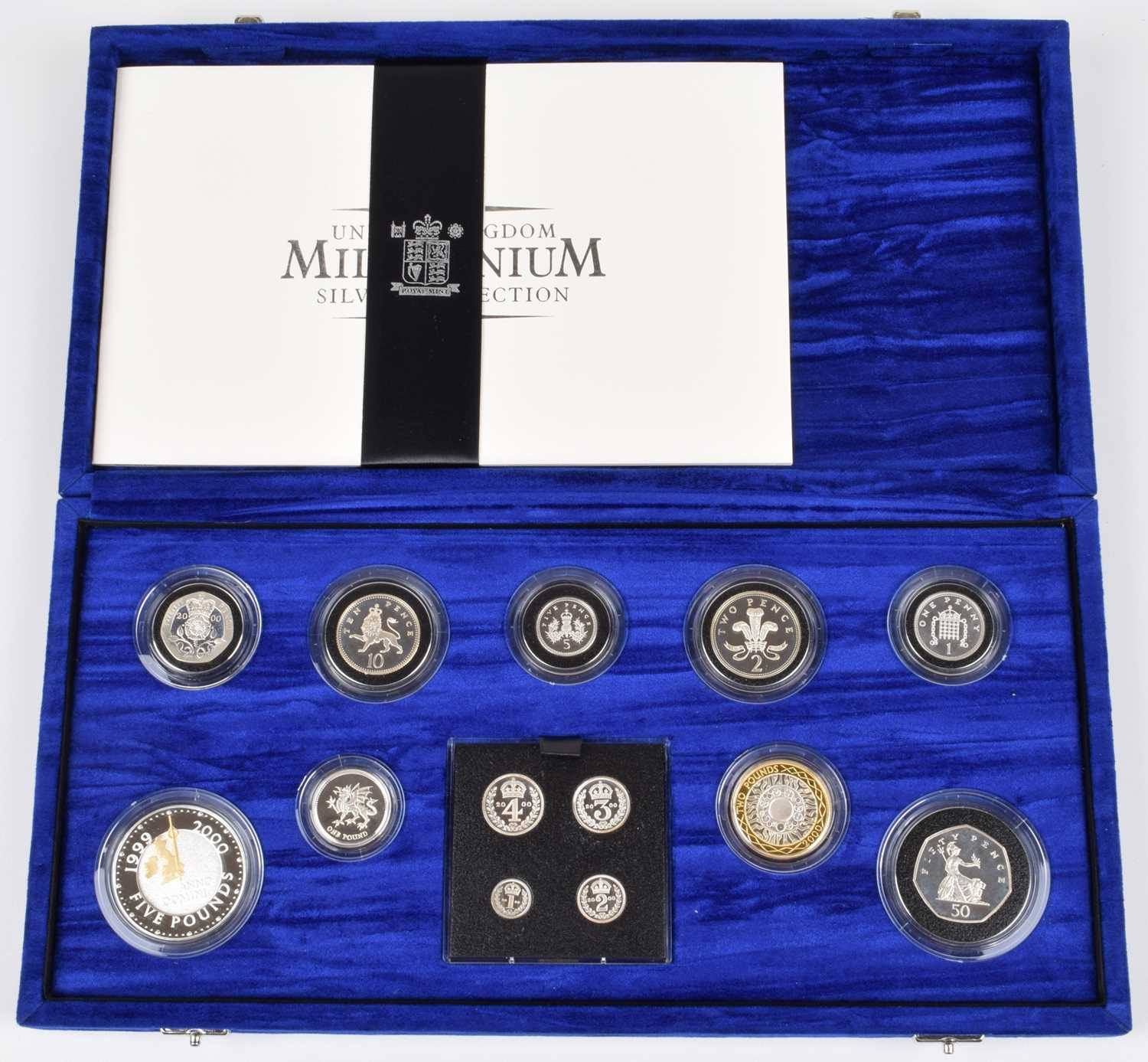 Lot 67 - The Royal Mint United Kingdom Millennium Silver Collection.