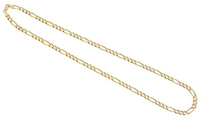 Lot 59 - A 9ct gold chain necklace