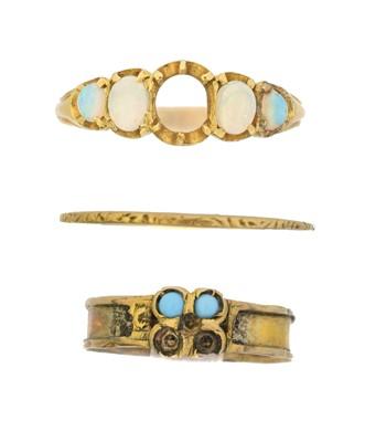 Lot 29 - Three rings