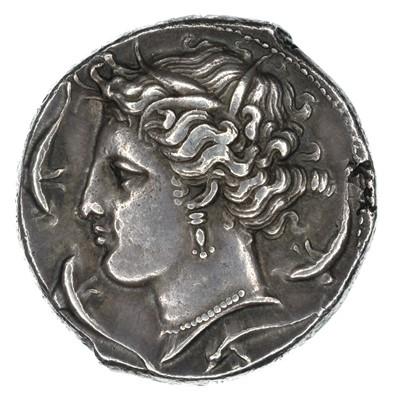 Lot 3 - Sicily, Siculo-Punic (c. 320-300 BC), Silver Tetradrachm