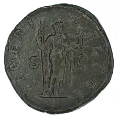 Lot 4 - Julia Mamaea, Sestertius, Rome, AD 222-235.
