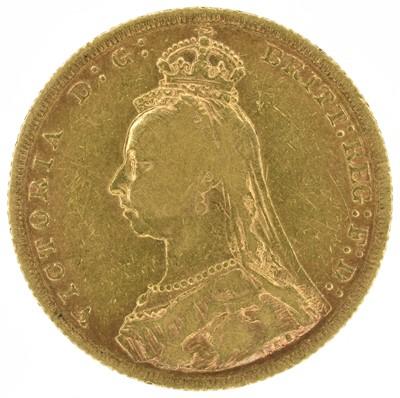 Lot 11 - Queen Victoria, Sovereign, 1889.