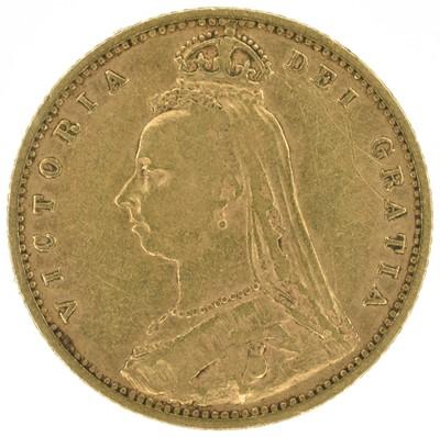 Lot 12 - Two Queen Victoria, Half-Sovereigns, 1892 (2).