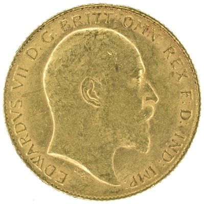 Lot 32 - Two King Edward VII, Half-Sovereigns, 1909 and 1910 (2).