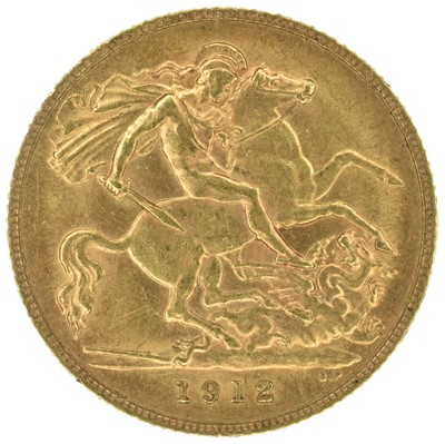 Lot 33 - Two King George V, Half-Sovereigns, 1912 (2).