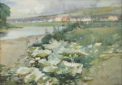 Lot 18 - Tom Scott R.S.A., R.S.W. (Scottish 1854-1927)
