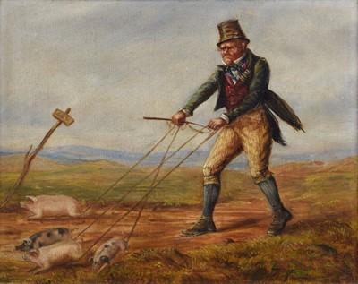 Lot 32 - Attributed to Erskine Nicol (Scottish 1825-1904)