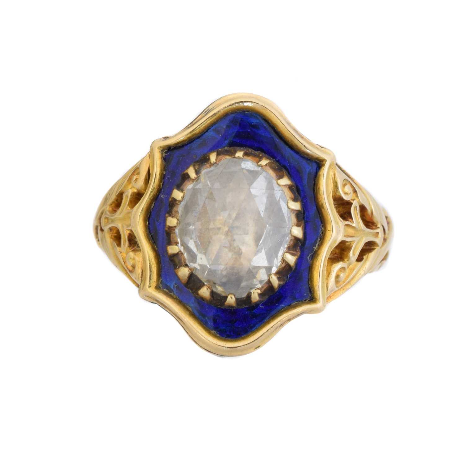 Lot 113 - A fine 17th century rose-cut diamond presented by Charles II