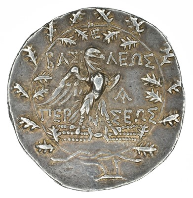 Lot 5 - Kingdom of Macedon, Perseus AR Tetradrachm.