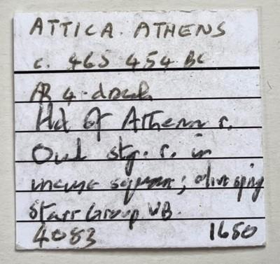 Lot 1 - Attica, Athens AR Tetradrachm.