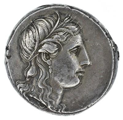 Lot 8 - Sicily, Syracuse, Agathokles (317-289 BC), AR Tetradrachm.