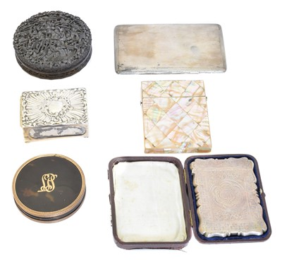 Lot 83 - A selection of silver