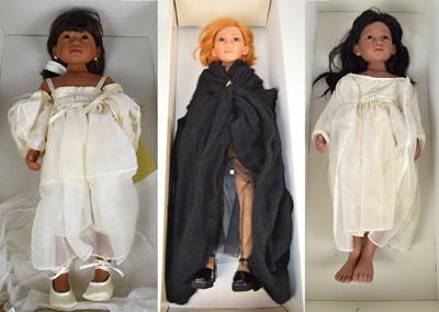 Lot 142 - Three boxed Philip Heath for Gotz Dolls to...