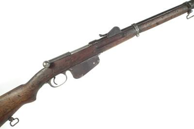 Lot 265 - Steyr Mannlicher 1886 straight pull rifle