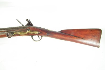 Lot Composed flintlock officers fusil or musket