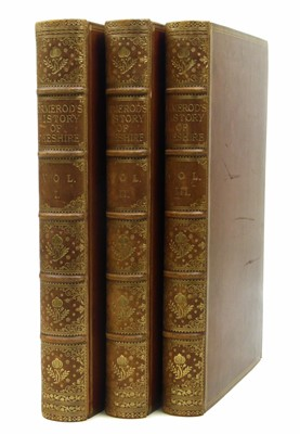 Lot 58 - George Ormerod, The History of the County Palatine and City of Chester, 1819