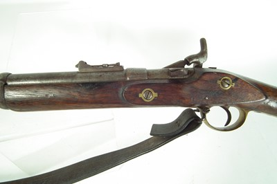 Lot Nepalese Snider rifle