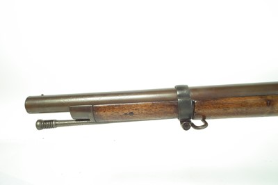 Lot English made 1842 type percussion musket