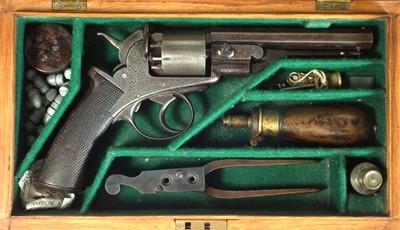Lot 250 - Witton Daw and Co 80 bore revolver