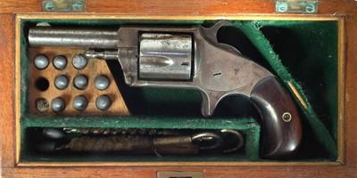 Lot 247 - Hopkins and Allen revolver