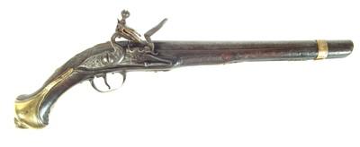 Lot 213 - Balkan flintlock pistol