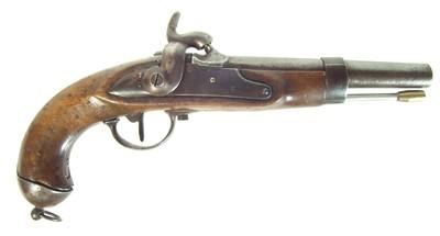 Lot 207 - Percussion cavalry pistol