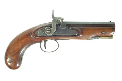 Lot 200 - Percussion pocket pistol by Jones