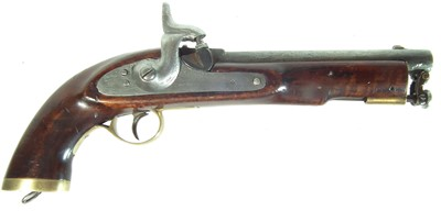 Lot 222 - Indian made percussion Lancers pistol