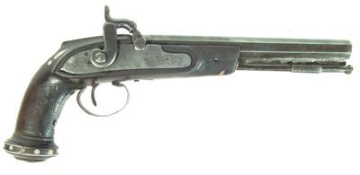 Lot 230 - Percussion pistol