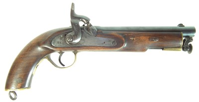 Lot 236 - Indian made percussion Lancers pistol